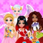 Puzzles – Princesses and Angels New Look